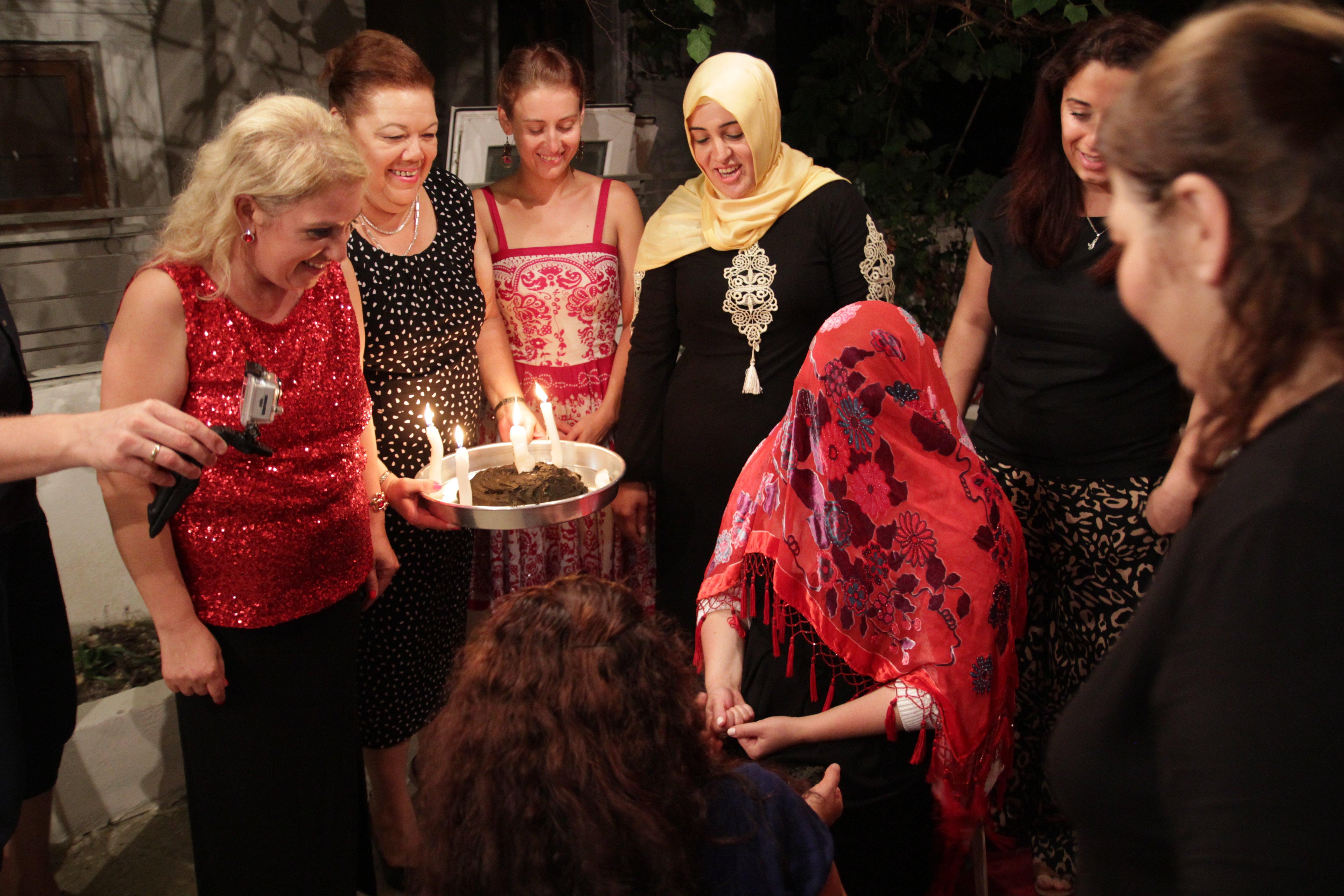 Panieński Po Turecku Czyli Moja Kına Gecesi Noc Henny Turczynki